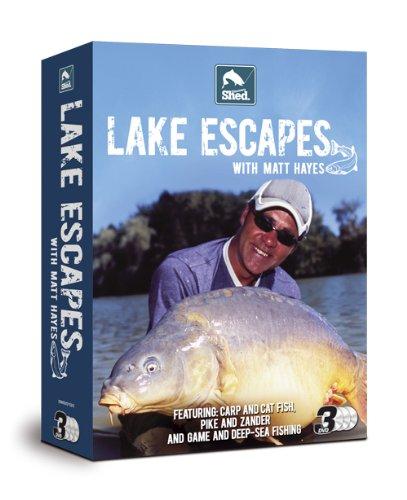 Matt Hayes Lake Escapes Triple Pack [DVD] [UK Import] (Escape Pack)