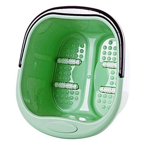 Japanisch Stil Fußbad Fuß Massage Rolle Fußbad Fass Haushalt Kunststoff Groß Fuß Wanne,Green
