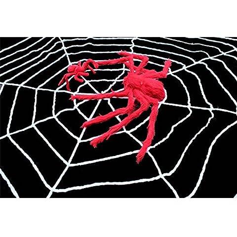 SLG Ventas de Halloween/Decoración de la casa embrujada/Accesorios de la barra/Peluche de araña-B