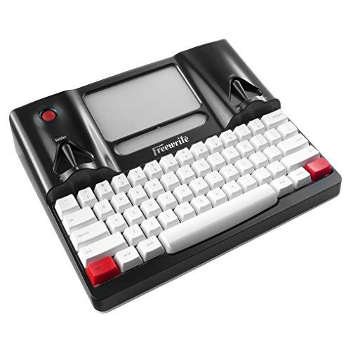 astrohaus freewrite Distraction-Free Schreiben Werkzeug (International Edition, ISO), Smart Schreibmaschine, E Ink Display W/Frontlight, Cherry MX mechanischen Tastatur, Cloud W/WI