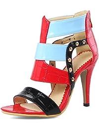 STHLM DG Plattform, Schuhe, Absatzschuhe, Pumps, Blau, Braun, Female, 36