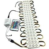 YXH® LED módulo 12V (5050 RGB kit de módulo de inyección 13W)para DIY , Iluminación LED Letras Firmar Cartelera luz, interior y exterior Impermeable (con control remoto).