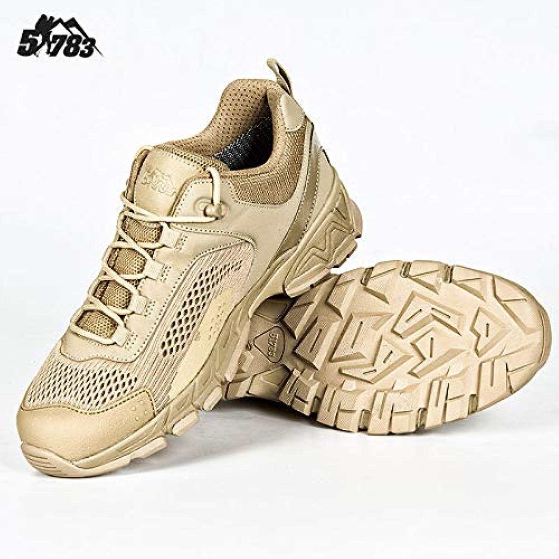 HCBYJ scarpa Alpinismo Scarpe da Trekking Estate all'aperto Basse Scarpe tattiche da Uomo Ultraleggero Forze Speciali... | Qualità Primacy  | Uomo/Donne Scarpa