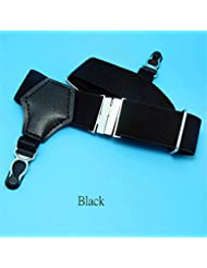 1Pair Sexy Men's Sock Garters Pin Grip Suspender Accessories Black