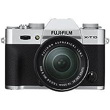 "Fujifilm X-T10 - Cámara EVIL de 16 MP (pantalla de 3"", LCD, 1080 p FHD, CMOS II) negro y plata - kit cuerpo con objetivo Fujinon XC 16 - 50 mm f/3.5 - 5.6 OIS II"