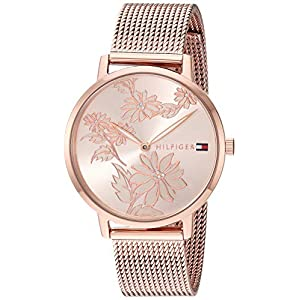Reloj Tommy HilfigerWomen's Pippa Reloj de cuarzo mineral cristal 1781922 1781922