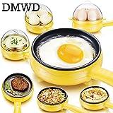 HI5 DMWD Multifunction Household Mini Egg Omelette Pancakes Electric Fried Steak Frying Pan Non-Stick Boiled Eggs Boiler Steamer EU