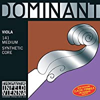 Thomastik Cuerda para Viola 4/4 Dominant - cuerda La núcleo en nylon entorchado aluminio, mediana