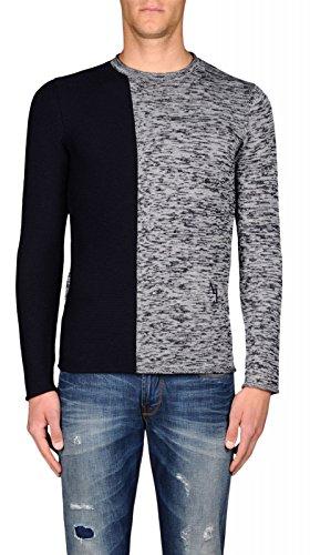 Maglia Uomo Armani Jeans 6X6MD9 6M0QZ Blu Autunno/Inverno Blu L