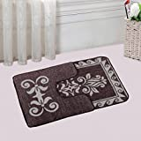 Saral Home Soft Cotton Bathmat with Contur Set- 50X80 cm