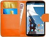 Best Nexus 6 Cases - Nexus 6 Case, G-Shield Leather Wallet Case [Slim Review