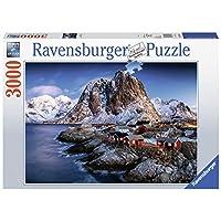 Ravensburger-Erwachsenenpuzzle-17081-Ravensburger-17081-Hamnoy-Lofoten-Erwachsenenpuzzle