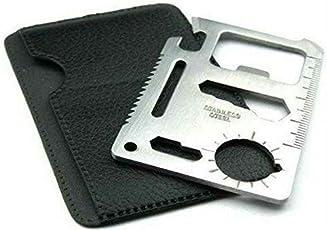 MK Wallet Ninja 11 in 1 Multi-Purpose Credit Card Size Pocket Tool