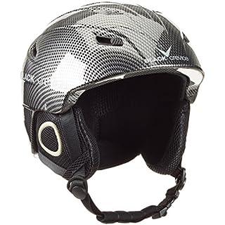 Black Crevice Erwachsene Skihelm Kitzbühel schwarz/Carbon XL