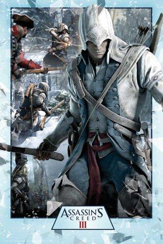empireposter - Assassins Creed - 3 - Collage - Größe (cm), ca. 61x91,5 - Poster, NEU - Assasins Creed-pc-spiel