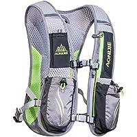 Mochila Hidratación Running Mochila Ligera 6L Impermeable y Transpirable para Viajes, Senderismo, Camping,