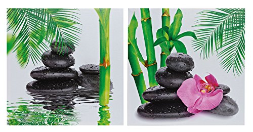 Leinwandbild Wellness Orchidee