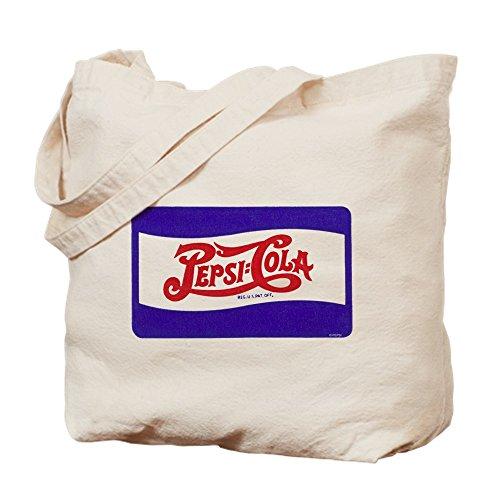 CafePress–Pepsi Logo–Leinwand Natur Tasche, Reinigungstuch Einkaufstasche S khaki (Pepsi Maschine)