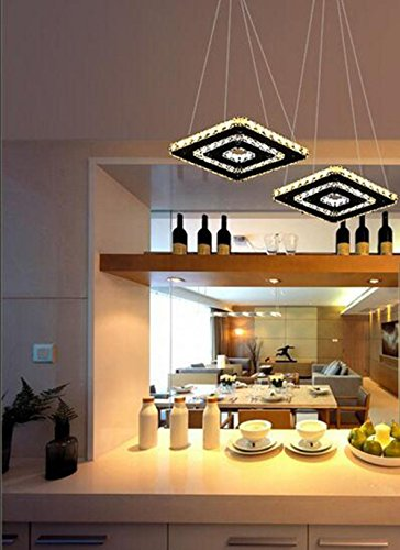 plafoniera led calda sala nuovo telecomando , luxury double (Oggi Acrilico)