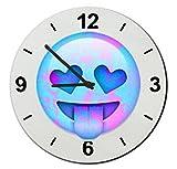 Glas Uhr Ø20 cm