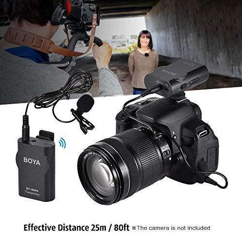 Boya BY-WM4 Microphone sans fil Lavalier avec écran en temps réel avec étui rigide pour appareil photo reflex numérique Canon Nikon Sony Cam... 7
