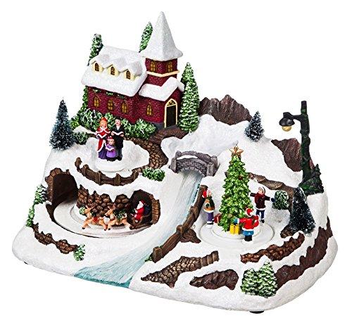 Cypress Home LED Musical Christmas Village -