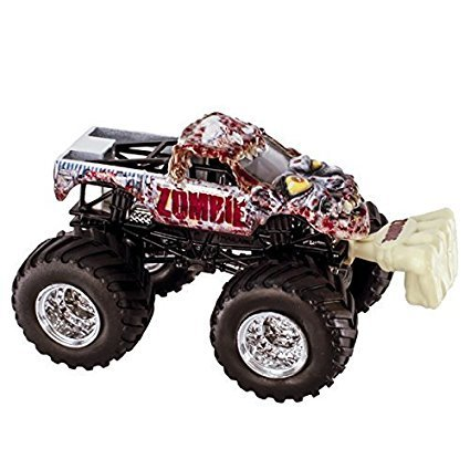 Zombie #11 2015 Hot Wheels Monster Jam Monster Truck Includes Snap-on Battle Slammer 1:64 Scale by Monster Jam