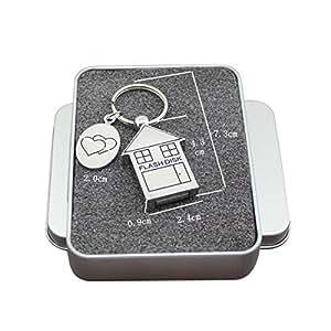 FeliSun Chiavetta USB 3.0 16GB 32GB 64GB DataTraveler Memoria Flash PenDrive Metallo for PC, Television, Car (32GB)