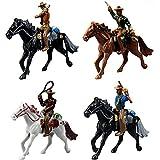 Musykrafties Western Cowboys Gunslingers avec chevaux miniatures pour - Best Reviews Guide