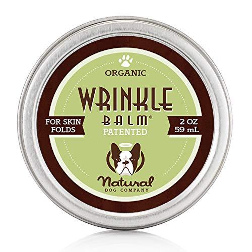 Natural Dog Company Faltenbalsam - Biologischer, Veganer Heilbalsam - Hautfalten-Behandlung, Hefenentzündung, Dermatitis, trockene juckende Haut, faltbar, 59 m -