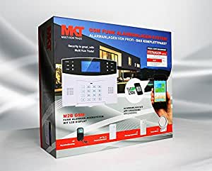 Multi Kon Trade Funk-Alarmanlagen-System M2B GSM SET-4 inkl. umfangreichem Zubehör
