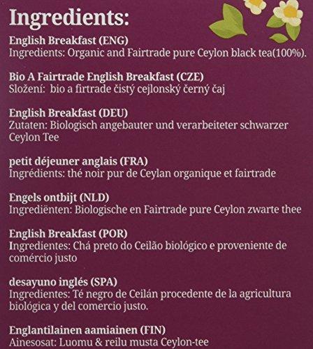 English Tea Shop - English Breakfast - Pack of 20 Tea Bag Sachets