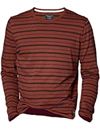 Abercrombie - Homme - Slim Fit Striped Tee Shirt Top - Manche Longue