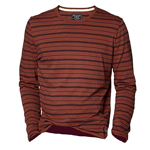 abercrombie-homme-slim-fit-striped-tee-shirt-top-longue-taille-medium-rust-624641121