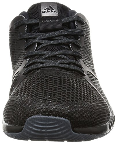 adidas Crazytrain Bounce W, Scarpe da Ginnastica Donna Nero (Negbas/Nocmét/Onix)