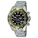 Nautec No Limit Herren-Armbanduhr XL Deep Sea Bravo Chronograph Quarz Edelstahl DS-B QZ2/STSTGRBK