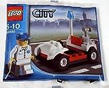 LEGO CITY - sehr seltenes Set 30000 - DOCTOR mit FAHRZEUG UND EINSATZKOFFER - RARITÄT VON 2009