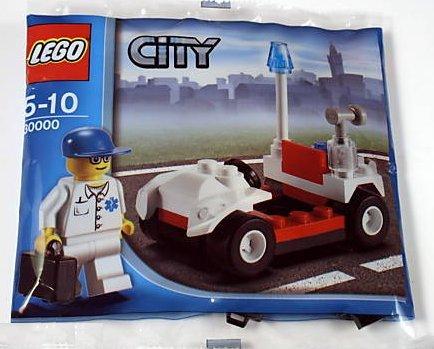 LEGO 30000 CITY - MEDICO CON COCHE Y MALETIN (AñO 2009)