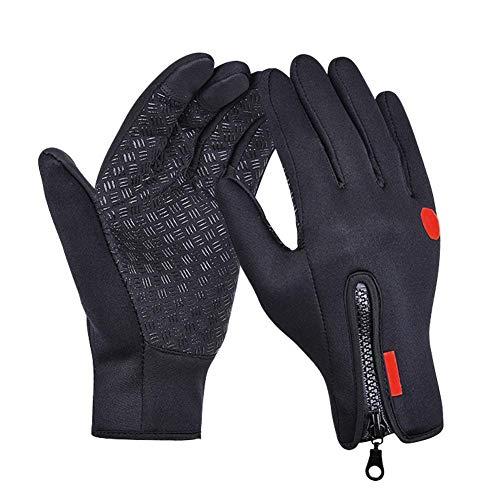 Demiawaking Guanti Touch Screen Guanto Protettivo Impermeabile Antivento a Caldo per Ciclismo Sciare Alpinista (L)