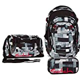 Satch MATCH by Ergobag - 3tlg. Set Schulrucksack - City Fitty