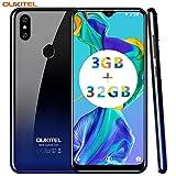 OUKITEL C15 Pro+ Dual 4G Volte Smartphone Débloqué,Écran 6,1 Pouces HD+...