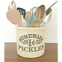 FREUNDE-REIHE. Monicas Küche Jar für Utensilien ♥ 100% Handarbeit ♥.