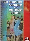 140Deutsche Schlager la 20–40años–de la fragancia Cancionero Partituras