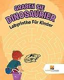 Graben Sie Dinosaurier : Labyrinthe Für Kinder
