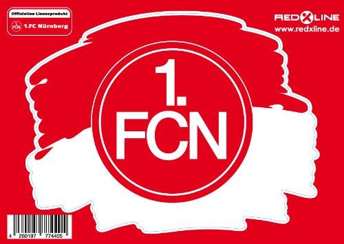 1. FC Nürnberg Duft Sticker DIN A6