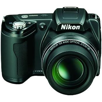 Nikon L110 Digital Camera - Black (12.1MP, 3 inch LCD, 15x Optical Zoom)
