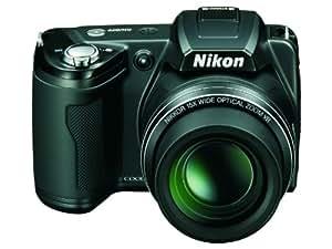 """Nikon Coolpix L109 Appareil photo numérique compact 12,1 Mpix Écran LCD 3"""" Zoom optique 15X Noir"""