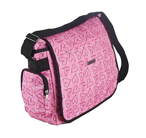 zazar-ladies-girls-pink-messenger-school-college-university-backpack-rucksack-pink-messenger