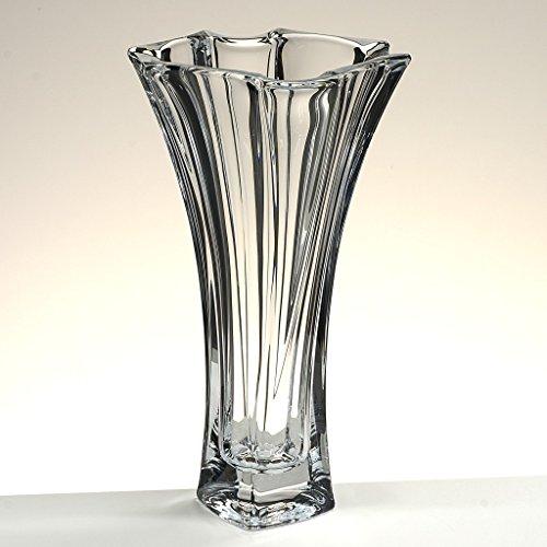 """Vaso in cristallo, Boemia, collezione """"NEPTUNE"""", 32 cm. di altezza."""
