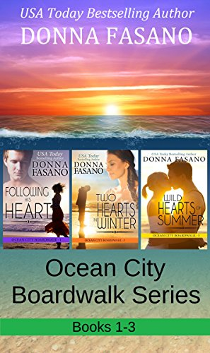 The Ocean City Boardwalk Series, Books 1-3 (English Edition)
